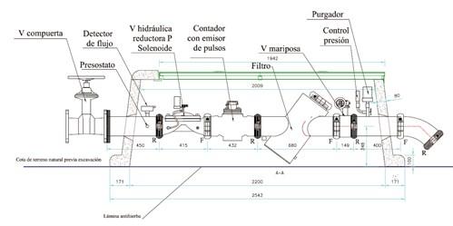 V lv hidr ulica plastic vyr 6152 v lvulas hidra licas y - Arquetas prefabricadas pvc ...
